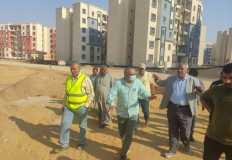 """ضمن مبادرة """" سكن لكل المصريين """" .. تنفيذ 29 ألفا و496 وحدة لمنخفضي الدخل بحدائق العاصمة"""