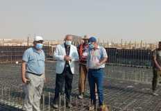 """تواصل تنفيذ محطة رفع  مياه الشرب """" 4 """" بمدينة بدر"""